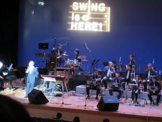 ビッグバンドコンサート「Swing Is Here」観てきました