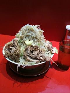ジャンクガレッジ北浦和店 ラーメン中盛大豚野菜マシマシ
