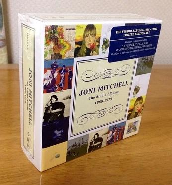 ジョニ・ミッチェルCD-BOX