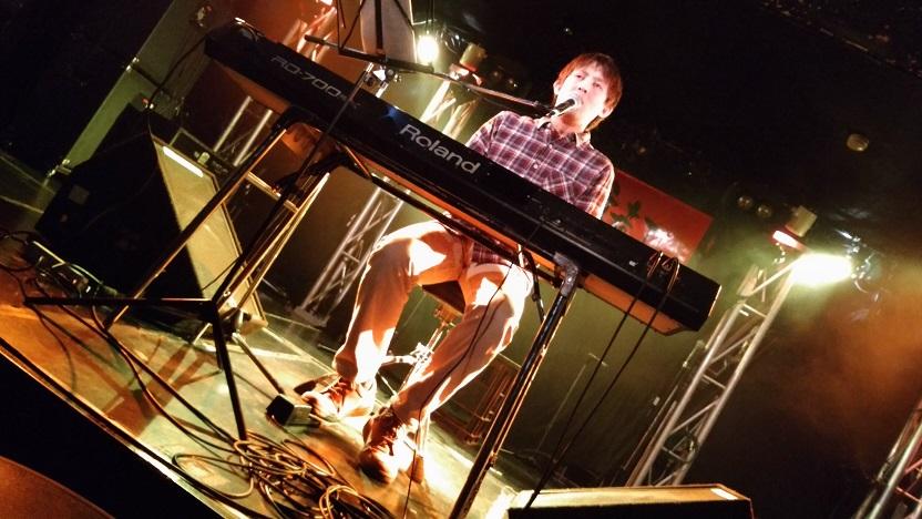 上野音横丁にてオオタマコトさんピアノ弾語り観てきました!