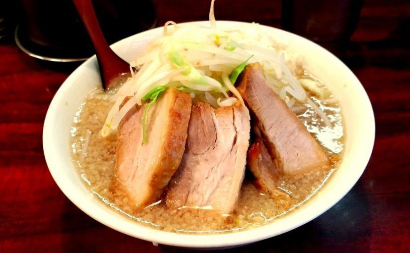 大宮ゴリラーメンで2018麺初め!