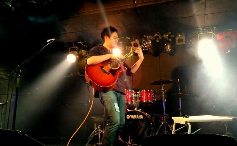 takoさんのソロギターを下北沢で観れるって?!