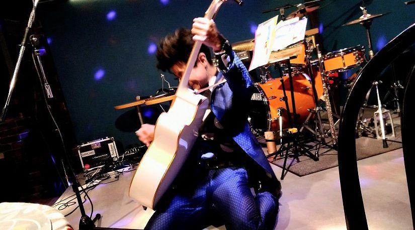 宮内家にてジャンボリー鶴田さん、色二弦さんLIVE観てきました!