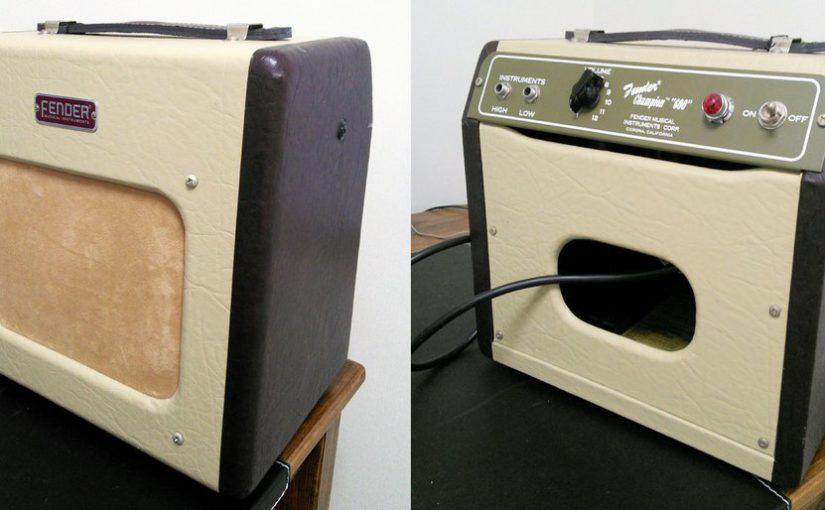 アンプ買いました!Fender Champion 600