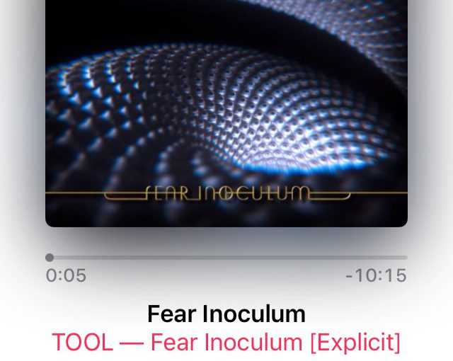 "Tool ""Fear Inoculum""【CDレビュー02】"