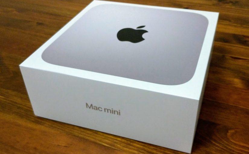 Macがうちにやってきた