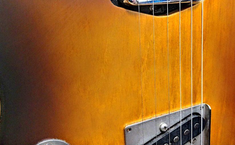 【自作ギター】テレキャスコンポーネント(2)「Warmothにボディ降臨」